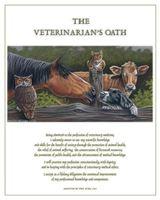 Picture of Dr. Ragona's Fine Art Print-Vet Oath: Horse (PA04)