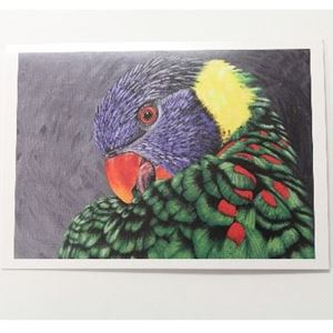 Picture of Vet Note Card Bird (Single) (PA46)