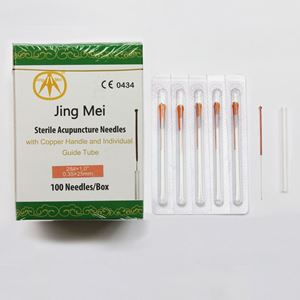 Picture of N28x1 Jing Mei Copper Handle Needle 100's