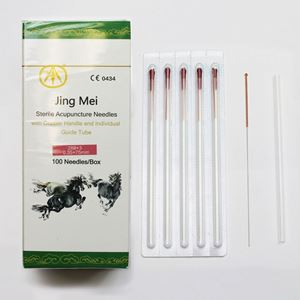 Picture of N28x3 Jing Mei Copper Handle Needle 100's