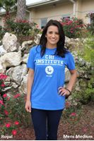 "Picture of ""Chi Institute"" Varsity Logo T-Shirt (MF23)"