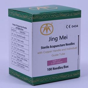 Picture for category Copper Handle Acupuncture Needles