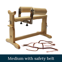 Picture of Medium Canine Acupuncture Chair with Safety Harness